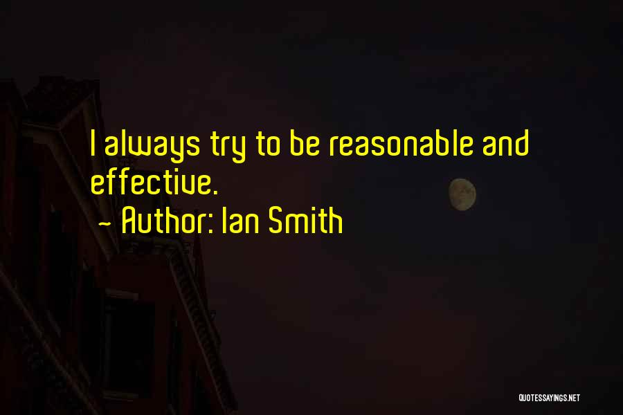 Ian Smith Quotes 525409