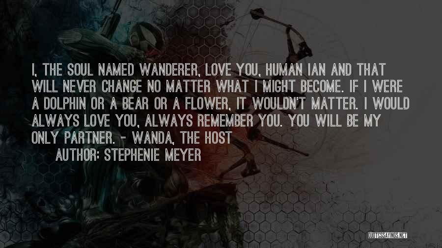 Ian Wanda Quotes By Stephenie Meyer