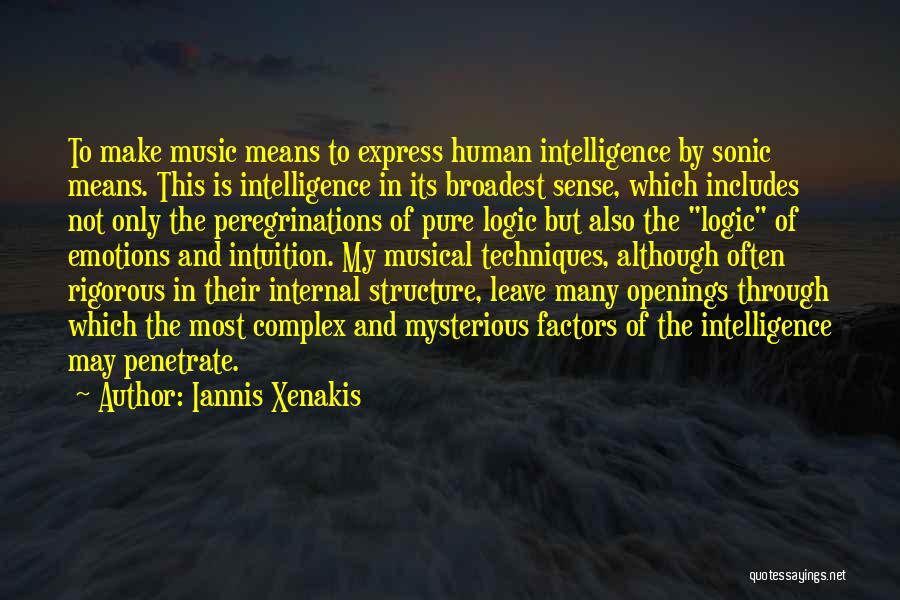 Iannis Xenakis Quotes 194835