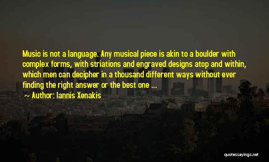 Iannis Xenakis Quotes 2068615