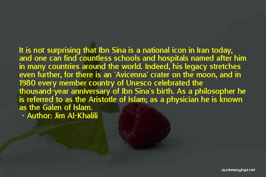 Ibn Sina Avicenna Quotes By Jim Al-Khalili