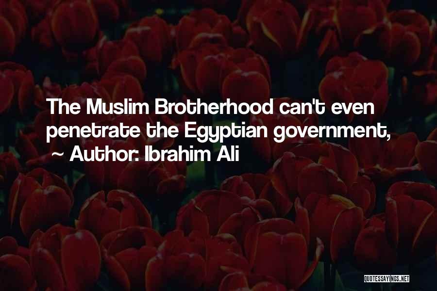 Ibrahim Ali Quotes 2057086