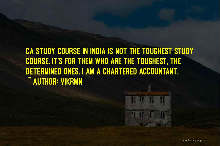 Icai Quotes By Vikrmn