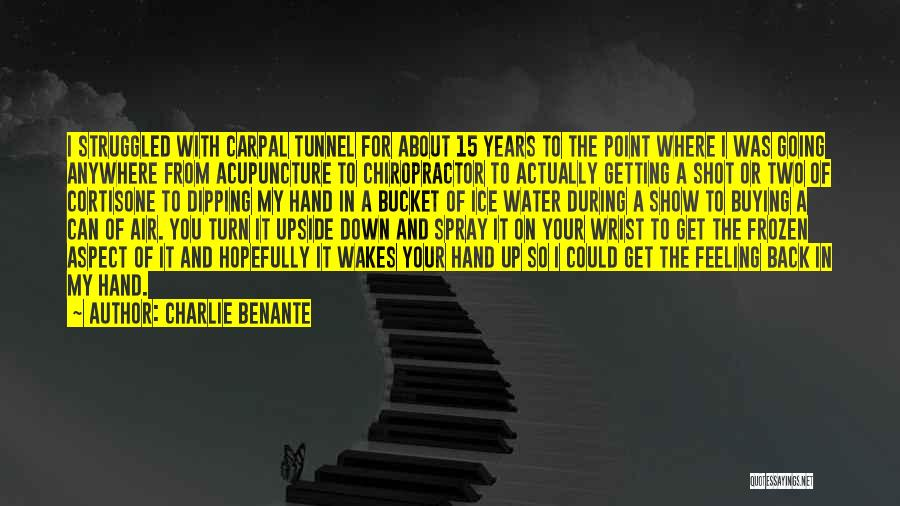 Ice Bucket Quotes By Charlie Benante