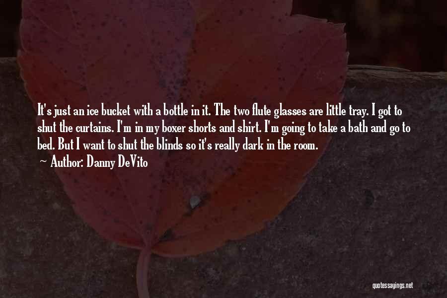 Ice Bucket Quotes By Danny DeVito
