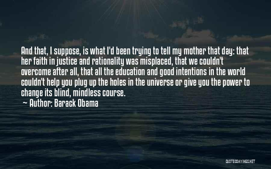 I'd Give You The World Quotes By Barack Obama