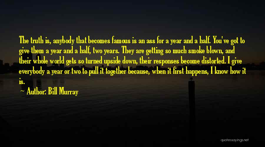 I'd Give You The World Quotes By Bill Murray