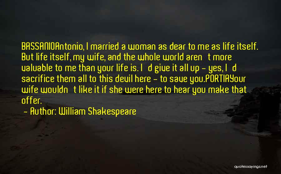 I'd Give You The World Quotes By William Shakespeare