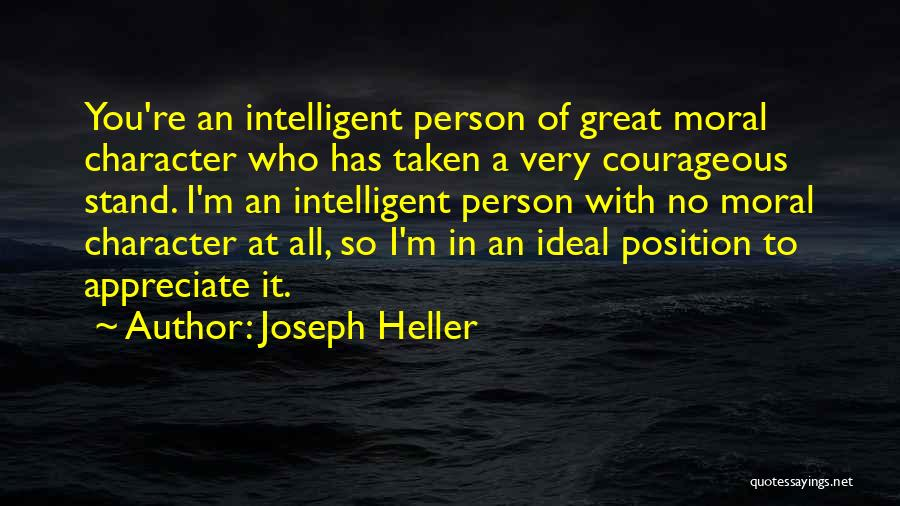 Ideal Person Quotes By Joseph Heller