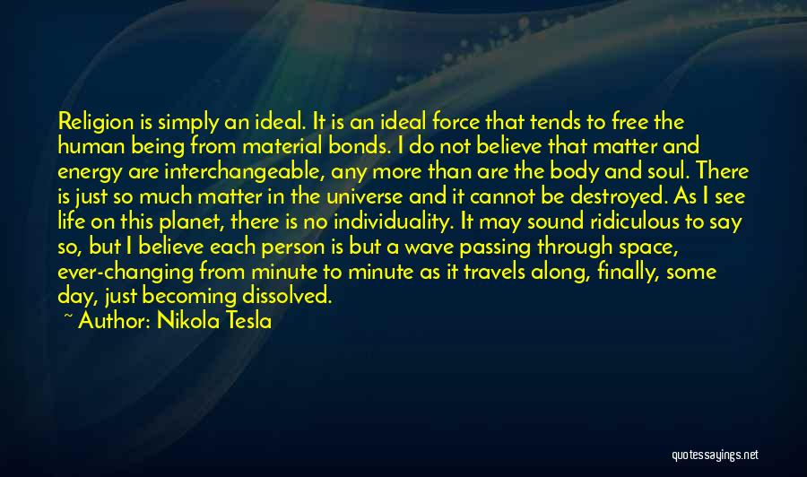Ideal Person Quotes By Nikola Tesla