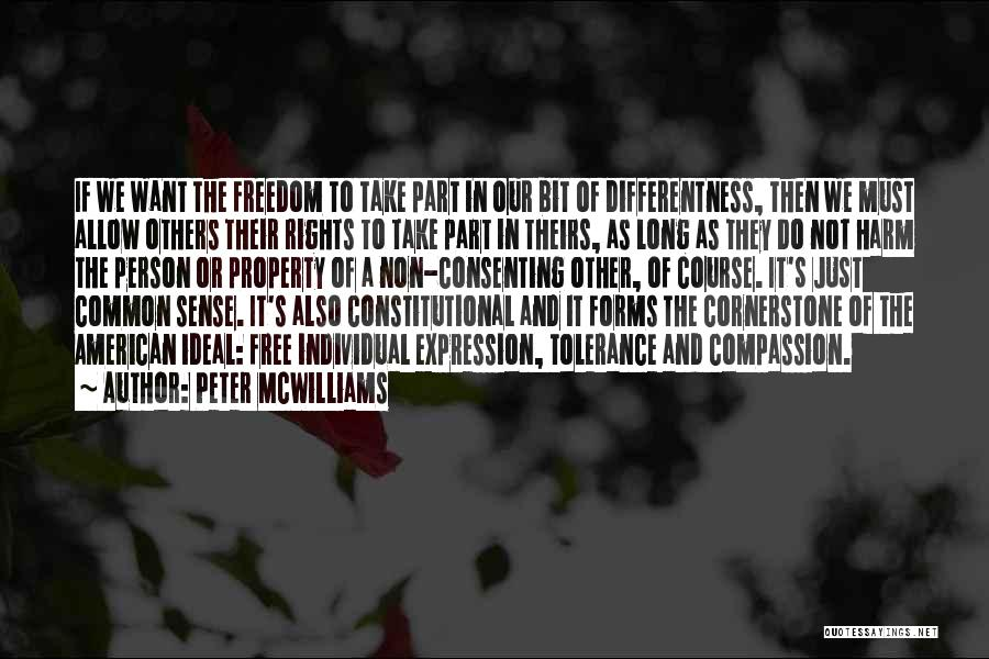 Ideal Person Quotes By Peter McWilliams