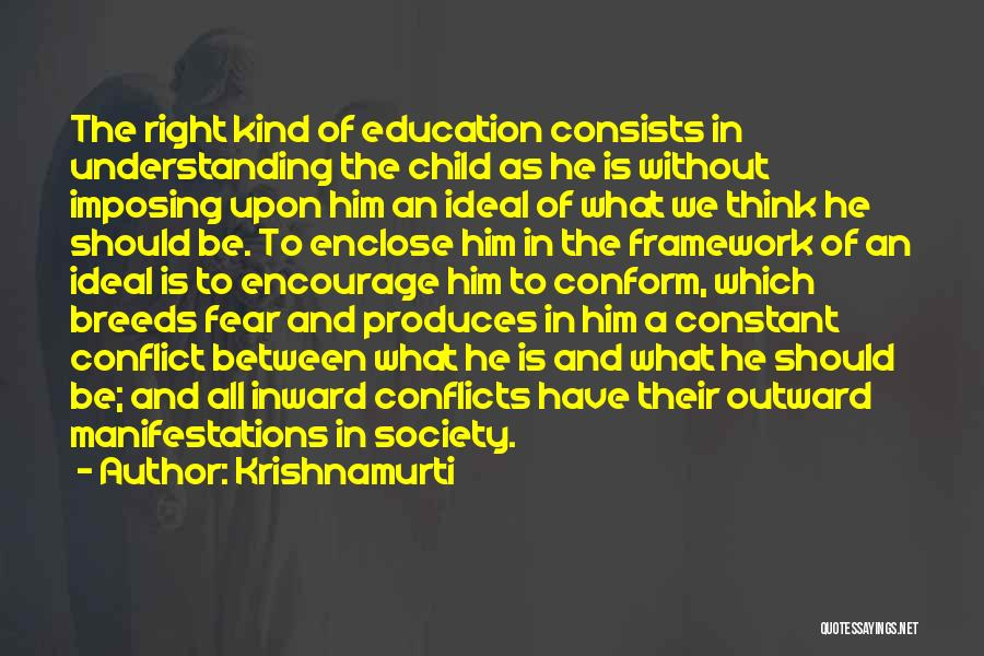 Ideal Society Quotes By Krishnamurti