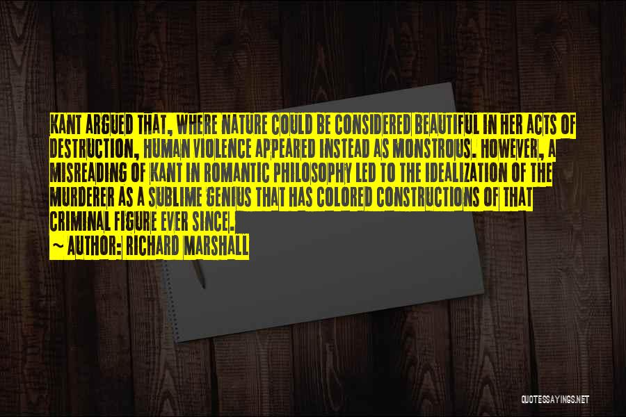 Idealization Quotes By Richard Marshall
