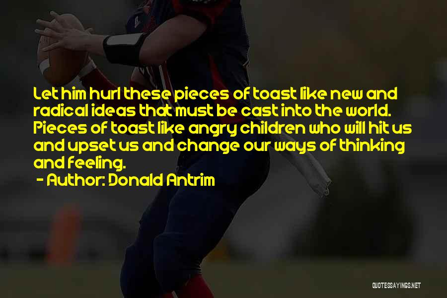 Ideas And Change Quotes By Donald Antrim