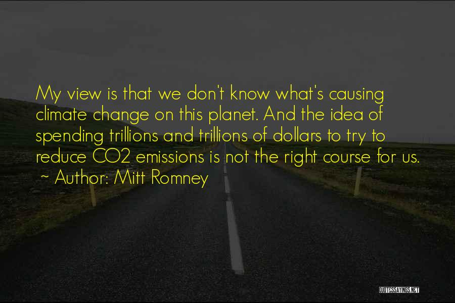 Ideas And Change Quotes By Mitt Romney