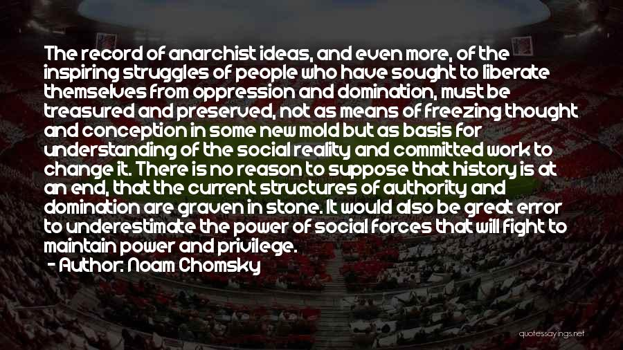 Ideas And Change Quotes By Noam Chomsky