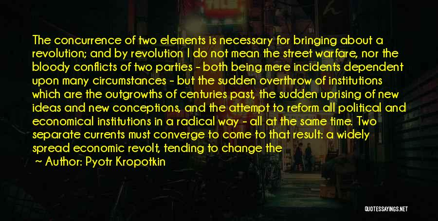 Ideas And Change Quotes By Pyotr Kropotkin