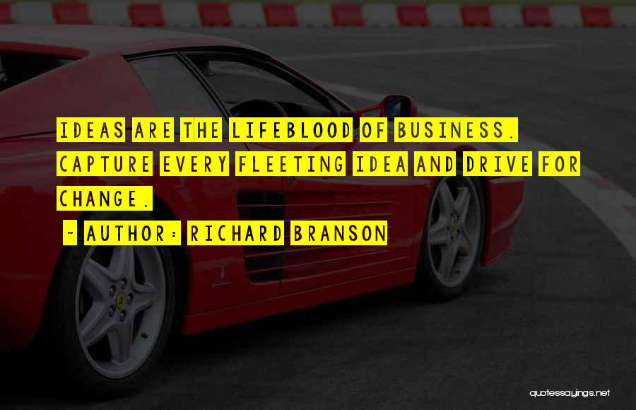Ideas And Change Quotes By Richard Branson