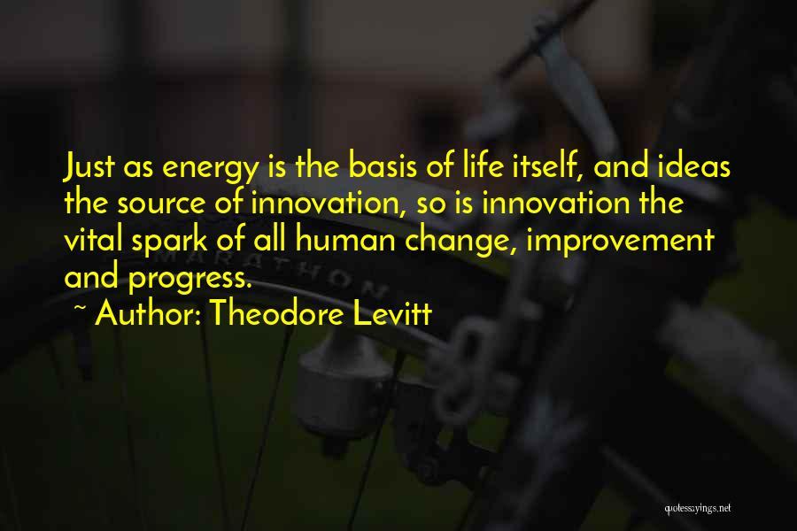 Ideas And Change Quotes By Theodore Levitt