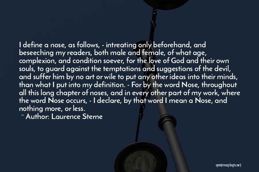 Ideas For Love Quotes By Laurence Sterne