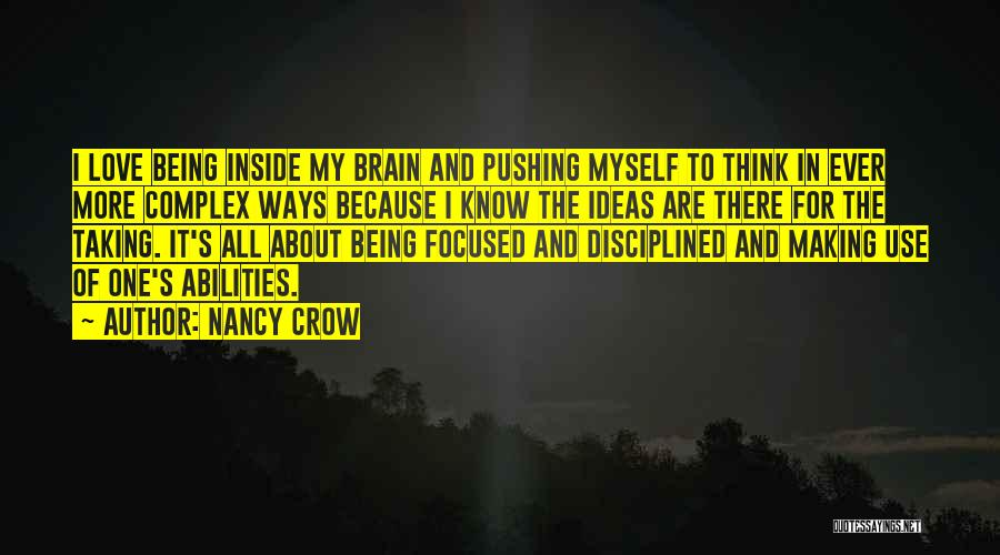 Ideas For Love Quotes By Nancy Crow