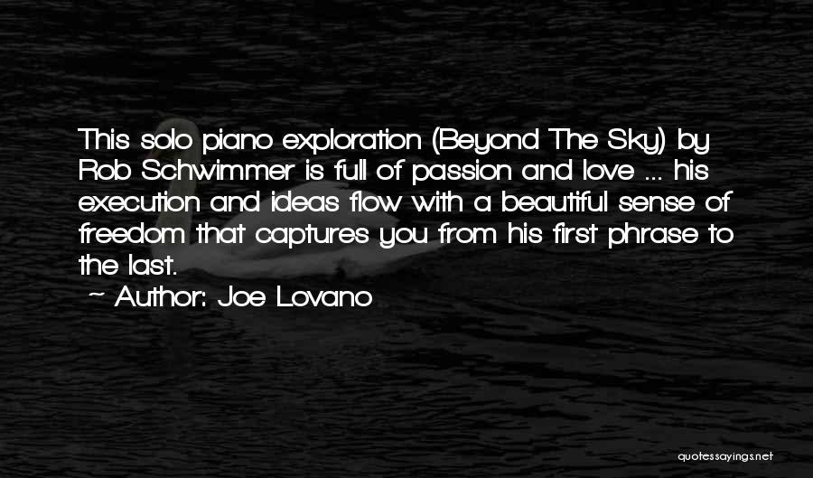 Ideas Vs Execution Quotes By Joe Lovano