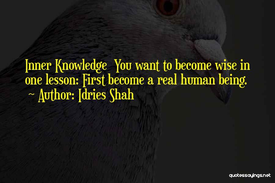Idries Shah Quotes 1150247