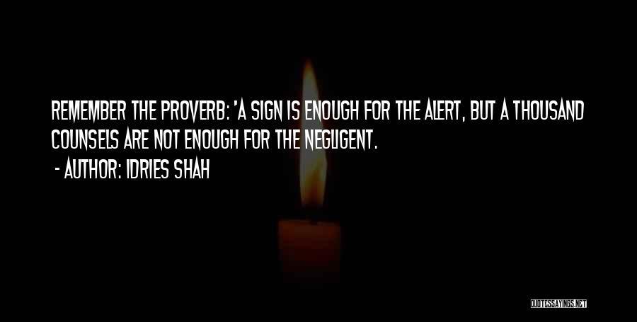 Idries Shah Quotes 124100