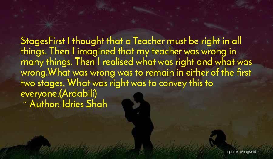 Idries Shah Quotes 1268433