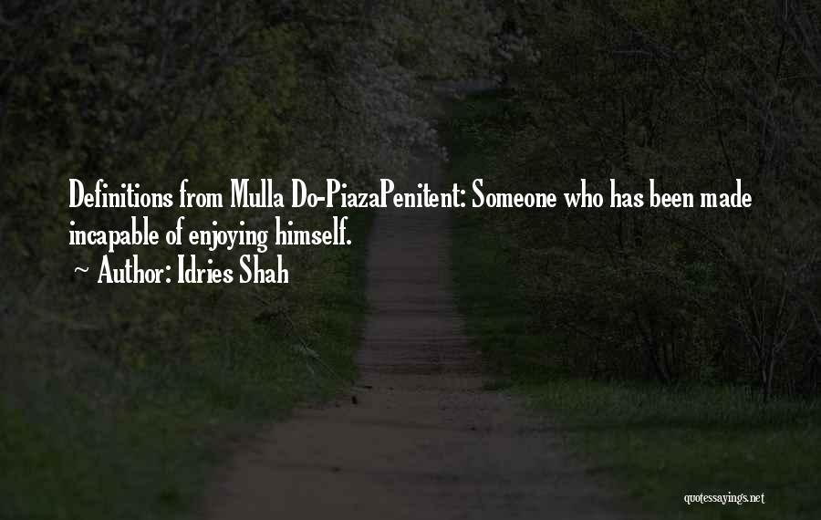 Idries Shah Quotes 146844