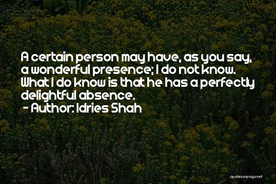 Idries Shah Quotes 1851696