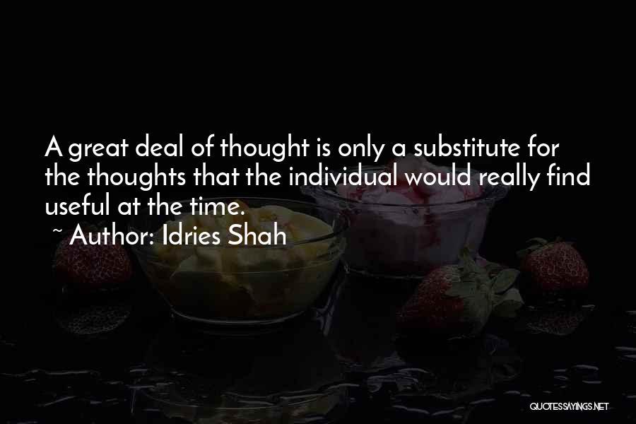 Idries Shah Quotes 1916444