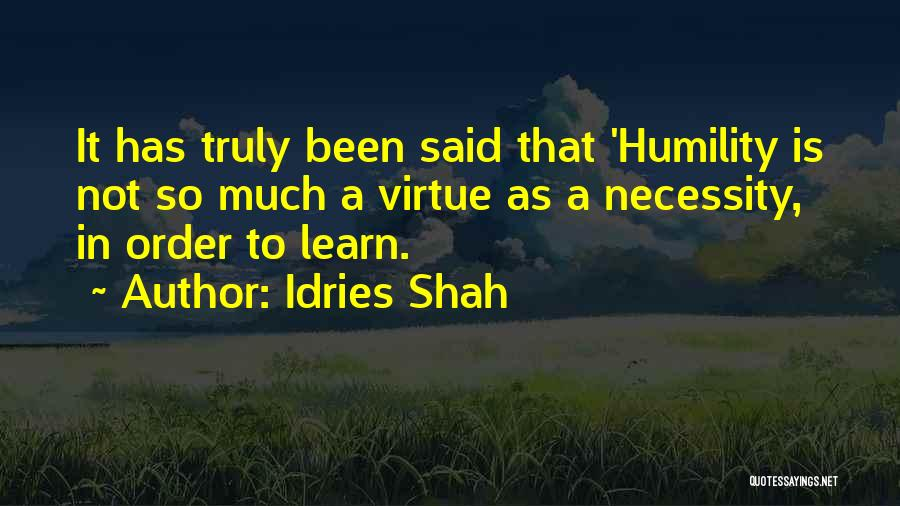 Idries Shah Quotes 1990307