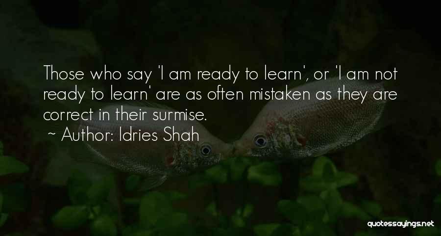 Idries Shah Quotes 2060356