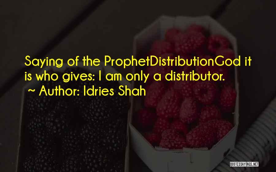 Idries Shah Quotes 285655