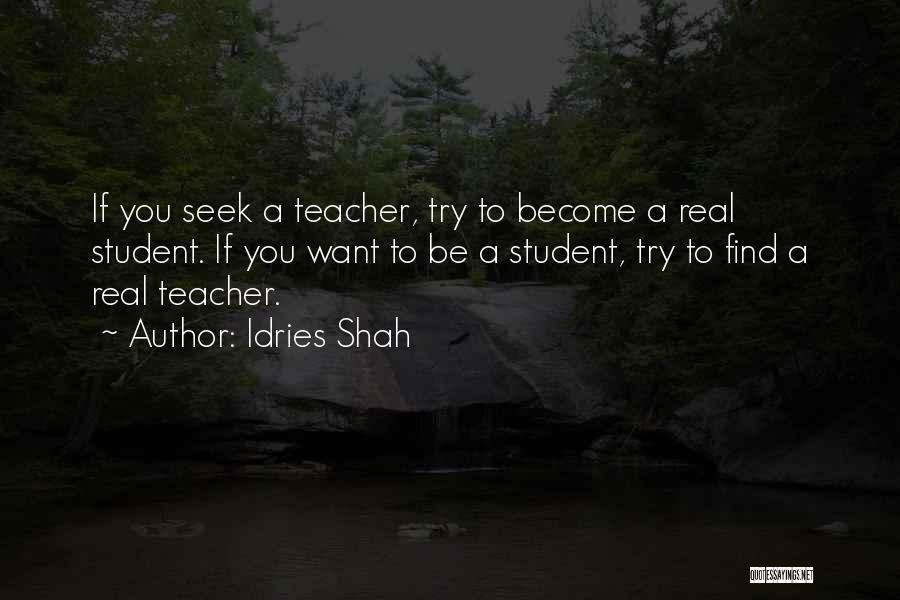 Idries Shah Quotes 442564