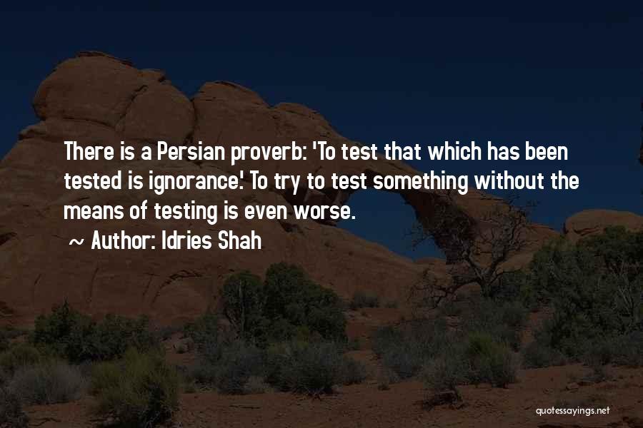 Idries Shah Quotes 509000