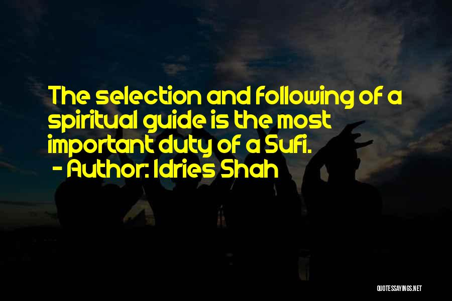 Idries Shah Quotes 635979