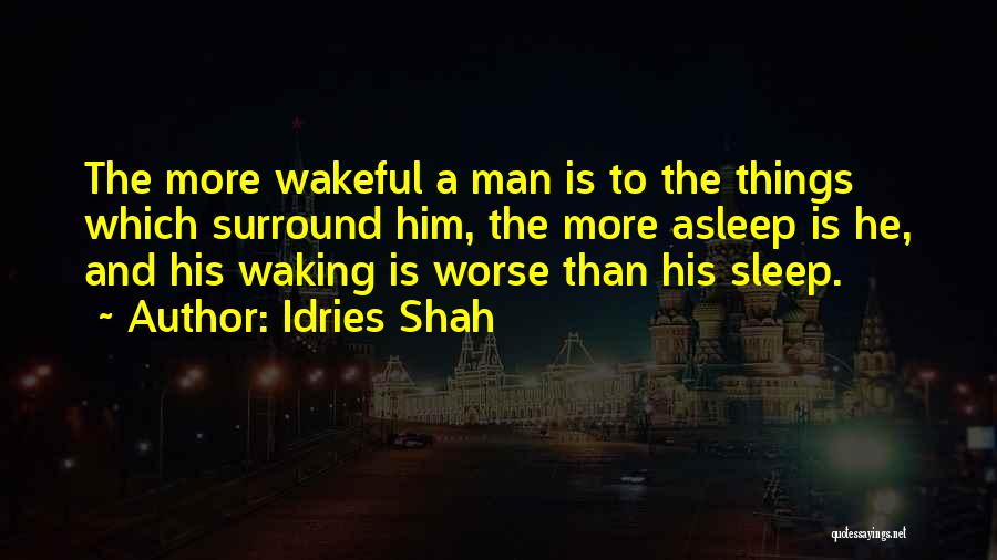 Idries Shah Quotes 823559