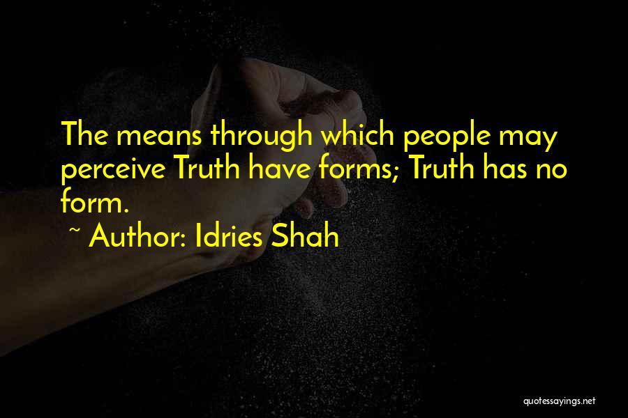 Idries Shah Quotes 983515