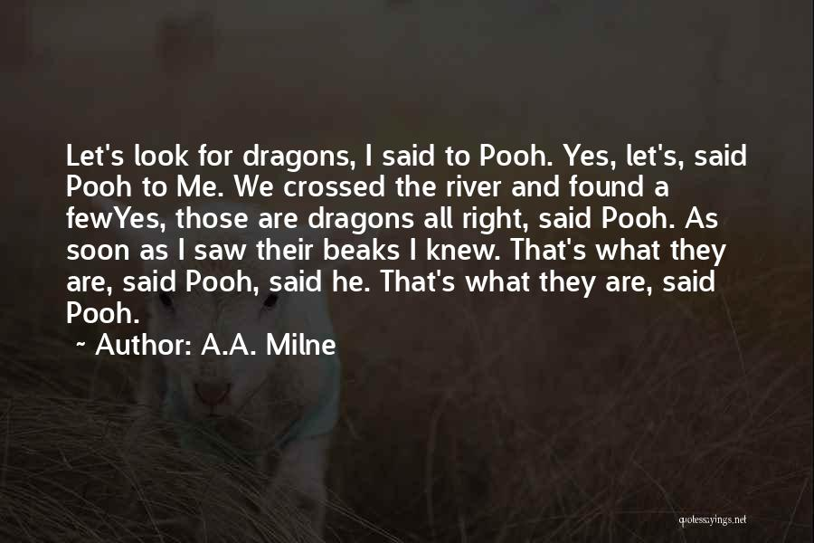 Ie The Pooh Quotes By A.A. Milne