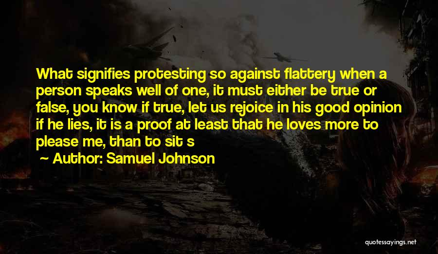If A Person Loves You Quotes By Samuel Johnson