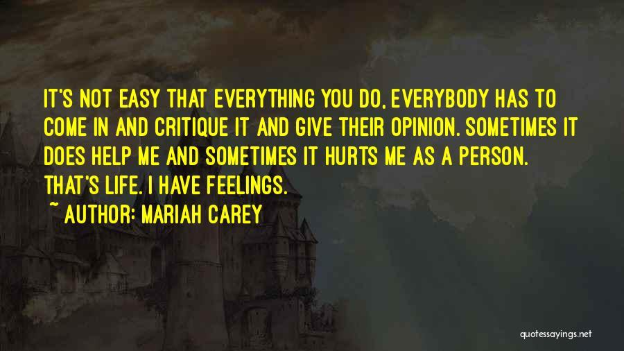 If Everything In Life Was Easy Quotes By Mariah Carey