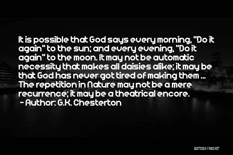 If God Says Yes Quotes By G.K. Chesterton