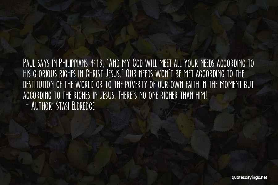 If God Says Yes Quotes By Stasi Eldredge