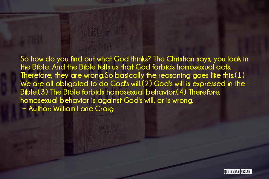 If God Says Yes Quotes By William Lane Craig