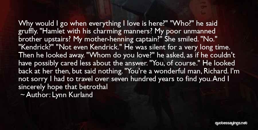 If He Cared Quotes By Lynn Kurland
