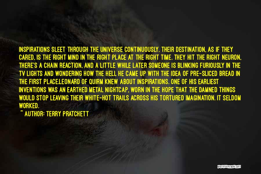If He Cared Quotes By Terry Pratchett