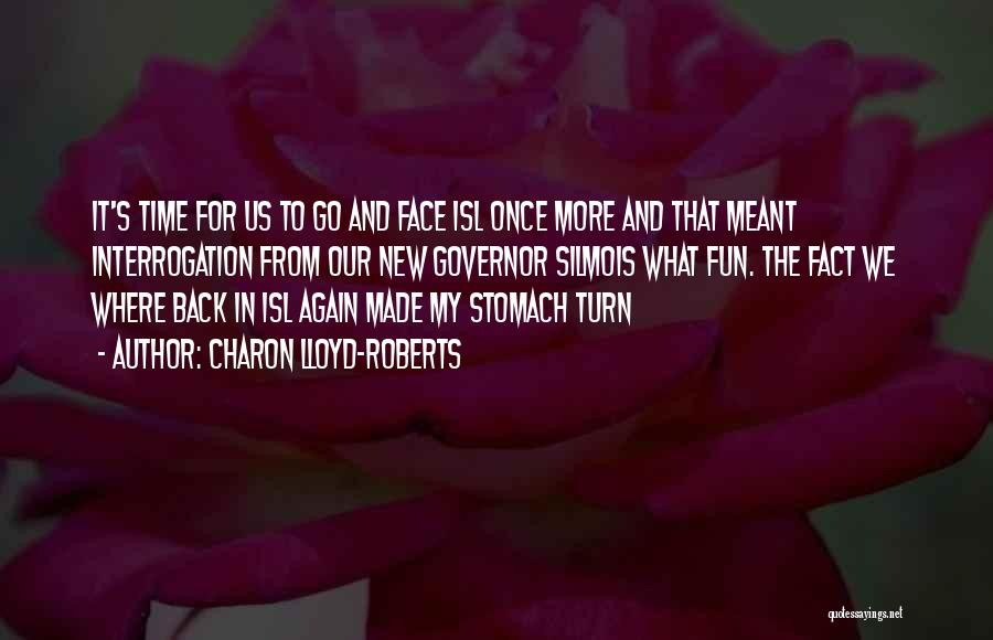 If I Can Turn Back Time Quotes By Charon Lloyd-Roberts