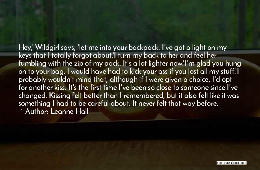 If I Can Turn Back Time Quotes By Leanne Hall